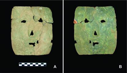 Copper mask among oldest metal artefacts from South America