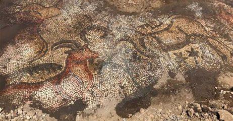 Ancient Roman mosaic discovered