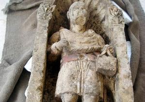 Ancient priest sculpture stolen from museum