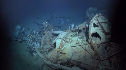 Shipwreck of WW2 destroyer discovered by company created by Microsoft co-founder