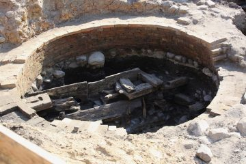 Waterworks and artefacts discovered at town square