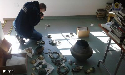 Numerous Iron Age artefacts recovered by Police
