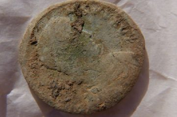 Ancient Roman coin found in Orkney