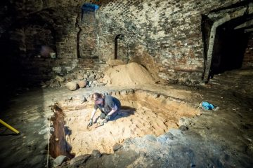 Excavations at Medieval hospital