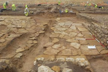 Roman villa with a stone floor found at Lincoln Eastern Bypass site