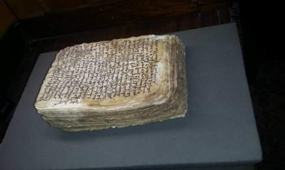 Medical manuscript dating to 6th century found in Egypt
