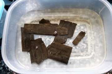 Roman writing tablets discovered at Vindolanda