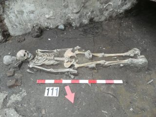 Remains of Plague victims discovered at Medieval cemetery