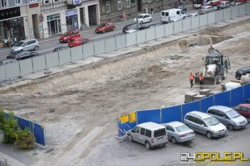 Brewery wall unearthed during shopping centre construction