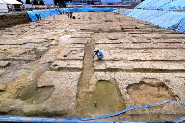 Residence of a 9th-century nobleman uncovered in Kyoto