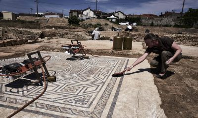 Housing complex construction unearths entire ancient Roman neighbourhood