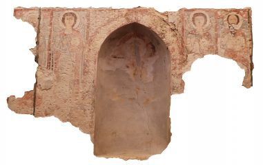 Frescoes of saints, martyrs and angels uncovered at Egyptian monastery