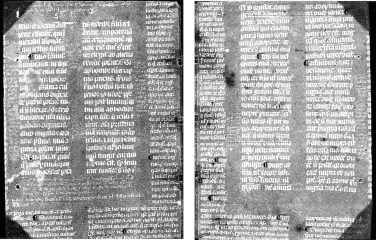 Medieval manuscript discovered in book binding by  state-of-the-art imaging technique
