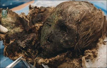 Mummified female remains found in the Siberian Arctic