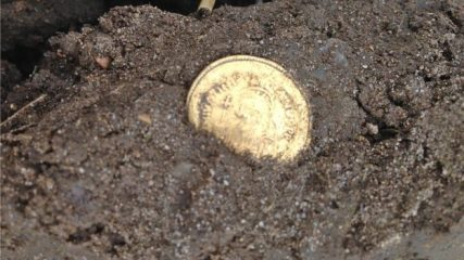 Rare gold pendant found by metal detectorists