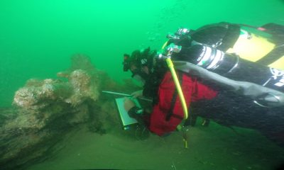 Excavations of a 18th-cent. ship reveal numerous artefacts
