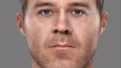 Face of a 19th-century murderer reconstructed