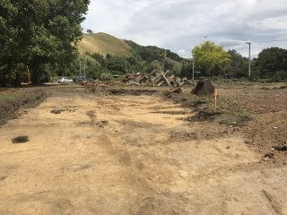 Roadworks uncover centuries-old Maori village