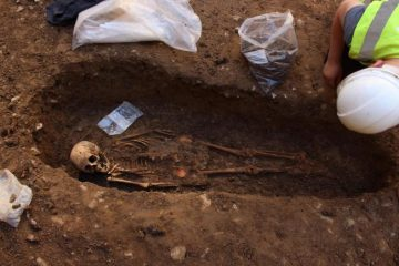 Skeletons unearthed during development works