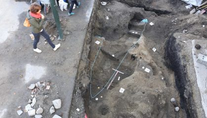 Early Viking boat grave uncovered