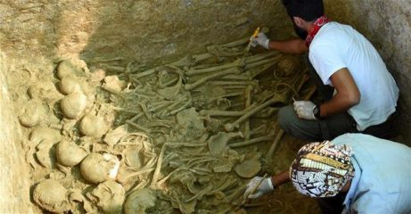Numerous skeletons uncovered in ancient city of Parion