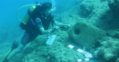 Numerous ancient wreckages identified at Turkish coast