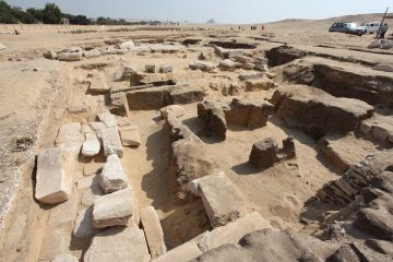 Temple of Ramesses II  in Abusir uncovered