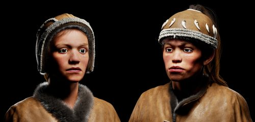 Facial reconstruction of a 30000-year-old Homo sapiens from Sungir