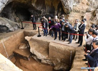 Caves occupied by early farmers found in China