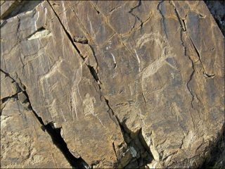 Rockart gallery developed from Bronze Age to Medieval times found