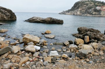 Storm washes up Roman artefacts on shore