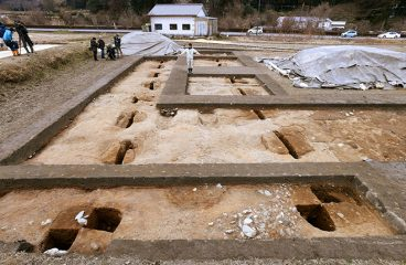 Remains of 7th-century banquet hall unearthed