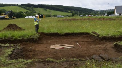 Bronze Age burial found near Loch Ness