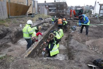 Iron Age hill fort found at a construction site