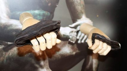 Ancient boxing gloves unearthed at Roman Vindolanda fort