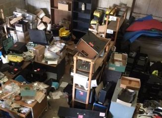 Break-in into archaeological trust's workshop leaves mess and devastation
