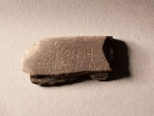 Stone carved with runes discovered