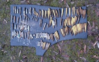Lots of ammunition and unexploded ordnance found by Police