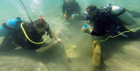 Ancient port found submerged in the Red Sea