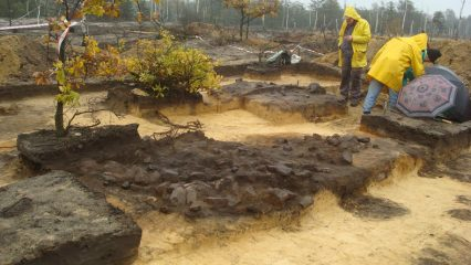 Early-Medieval furnace for ore processing discovered