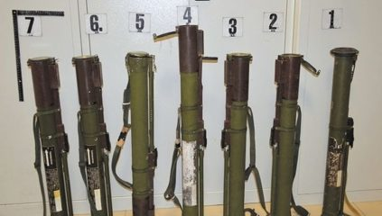 Customs reveal Soviet howitzers at border crossing