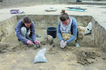 Archaeologists uncover Prehistoric ringfort