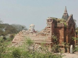 Ancient pagoda collapses in Myanmar