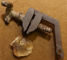 Pistol part found that might be 500 years old