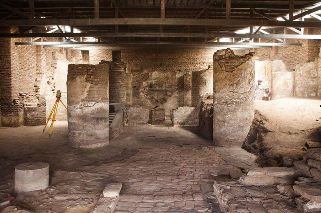 Polish archaeologists discover dozens of medieval paintings