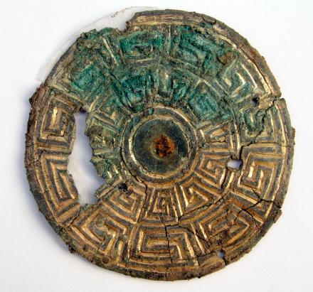 Jewellery found in Viking grave