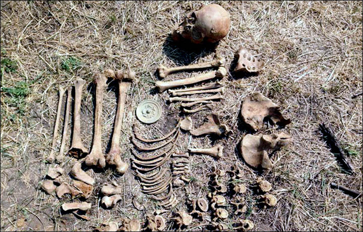 Remains of a Mongolian noblewoman discovered
