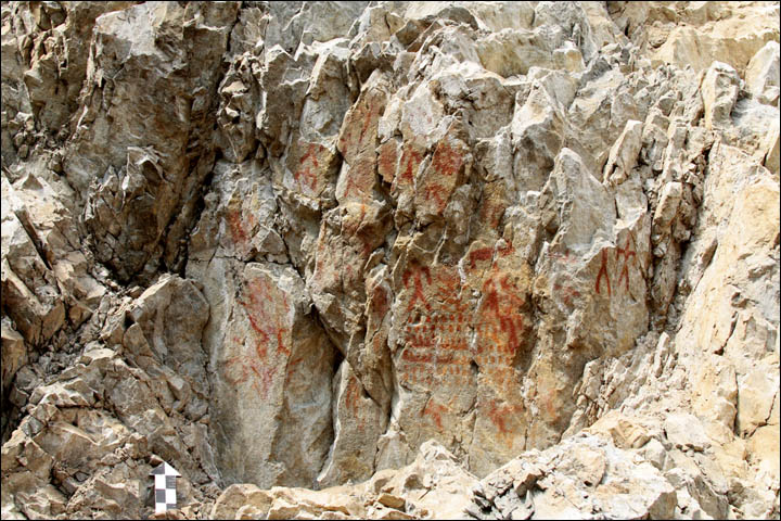 Rock art dating 2000 BC found in Siberia
