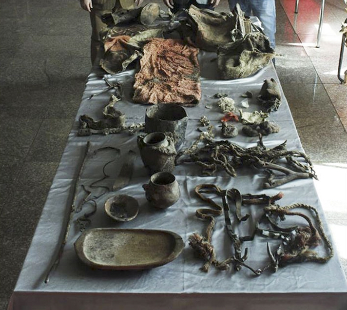 1500-year-old burial found in Mongolia
