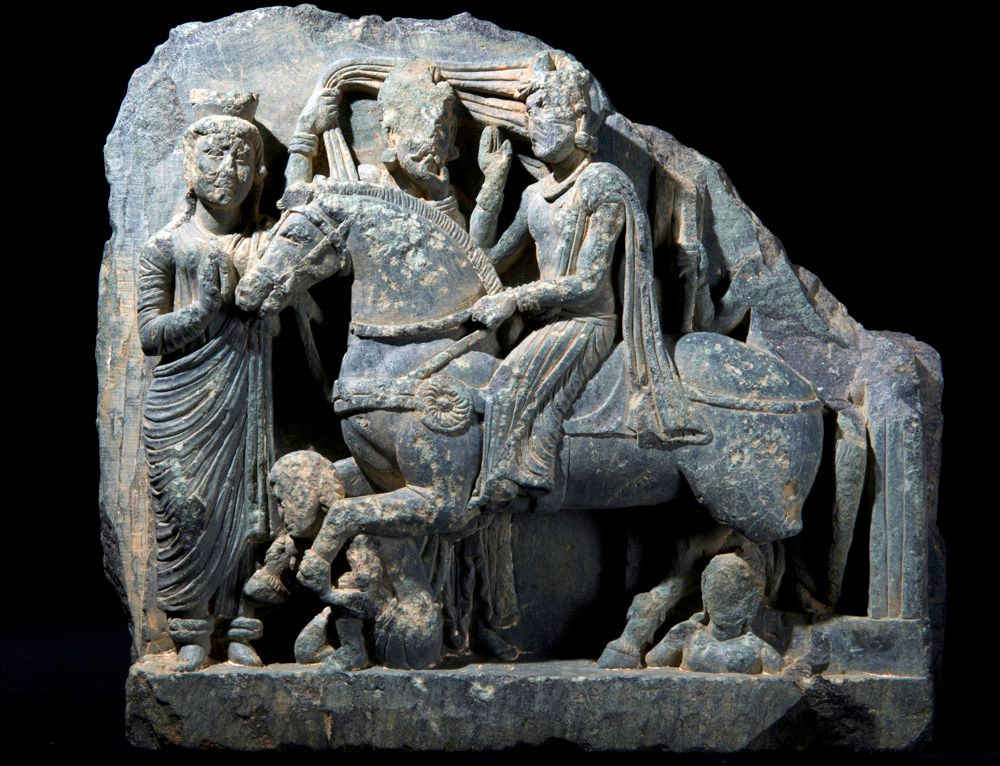 Ancient sculptures found in Pakistan